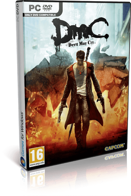 Descargar DmC: Devil May Cry [Complete Edition + DLC] [PC] [Full] [ISO] Gratis [MEGA-MediaFire]