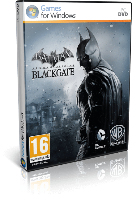 Descargar Batman Arkham Origins Blackgate Deluxe Edition [PC] [Full] [Español] [1-Link] [ISO] Gratis [MEGA]