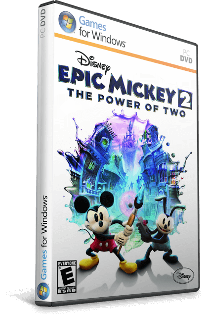 Descargar Epic Mickey 2: The Power of Two [PC] [Full] [Español] [ISO] Gratis [MEGA]