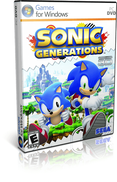 Descargar Sonic Generations + DLC [PC] [Full] [Español] [ISO] Gratis [MEGA]