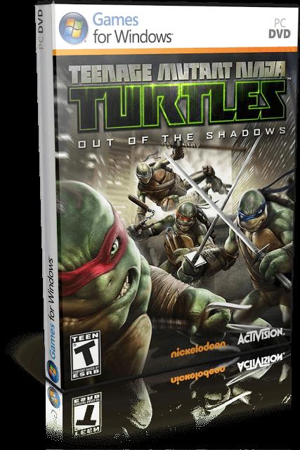 Descargar Teenage Mutant Ninja Turtles: Out of the Shadows [PC] [Full] [Español] [1-Link] [ISO] Gratis [MEGA]