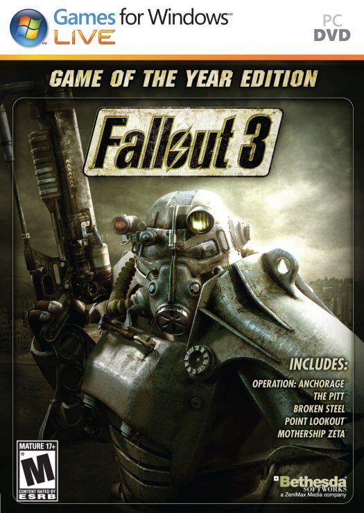 دانلود بازی Fallout 3 Game of The Year Edition برای PC