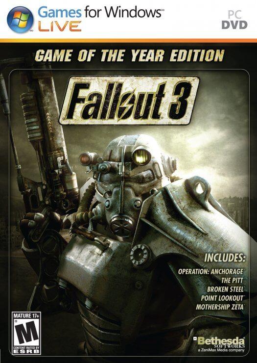Descargar Fallout 3: GOTY Edition [PC] [Full] [Español] [ISO] Gratis [MEGA]