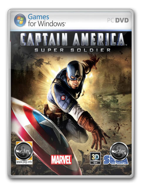 Descargar Captain America Super Soldier [PC] [Full] [Español] [ISO] [2-Links] Gratis [MEGA]