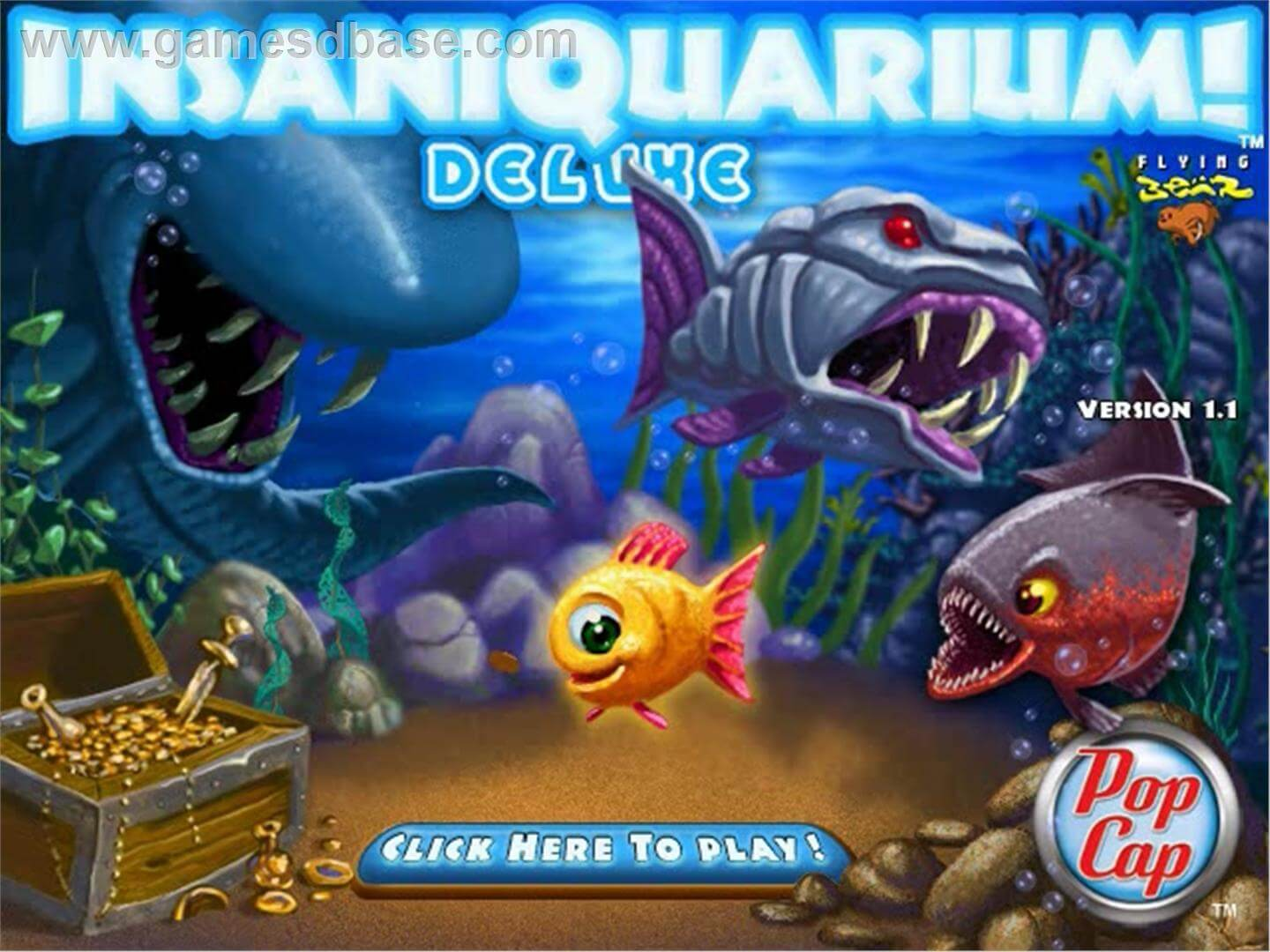Descargar Insaniquarium Deluxe [PC] [Portable] [1-Link] [.exe] Gratis [MEGA]
