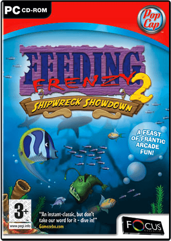 Descargar Feeding Frenzy 2 Deluxe [PC] [Portable] [1-Link] [.exe] Gratis [MEGA]