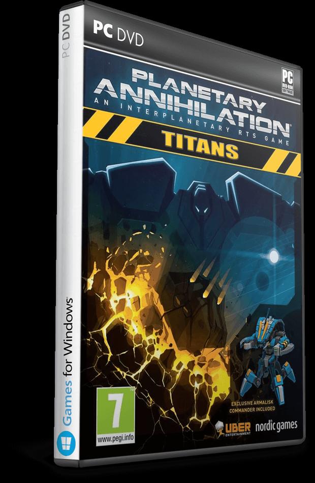 Descargar Planetary Annihilation: TITANS [PC] [Full] [ISO] [Español] Gratis [MEGA]