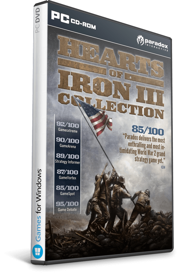 Descargar Hearts of Iron III: Collection [PC] [Full] [ISO] Gratis [MEGA]