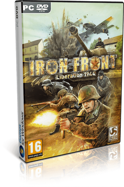 Descargar Iron Front: Liberation 1944 [PC] [Full] [1-Link] [Español] [ISO] Gratis [MEGA-4Shared]