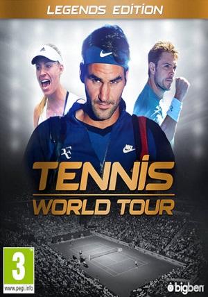 Descargar Tennis World Tour: Legends Edition [PC] [Full] [Español] Gratis [MEGA-MediaFire-Drive-Torrent]